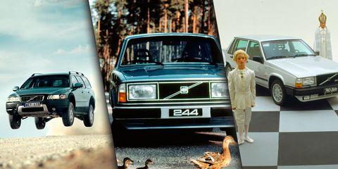 Vehicle, Car, Volvo 700 series, Snapshot, Family car, Volvo cars, Compact car, Sedan, Volvo 300 series, Classic car,