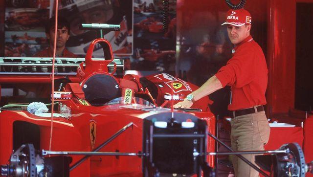 michael schumacher 1999 formula 1 f1