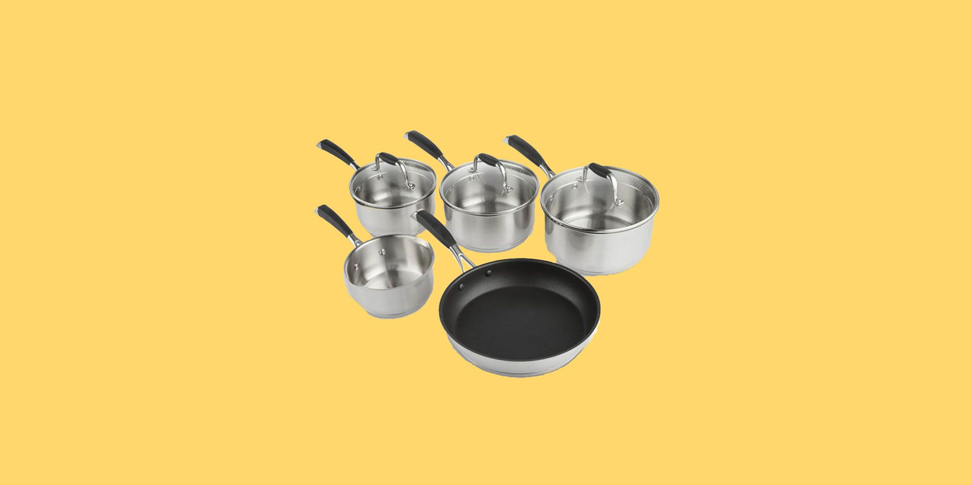 VonShef Stainless Steel Stove Top