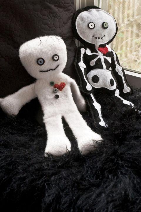 halloween crafts voodoo doll how to
