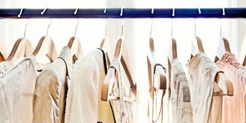 voorjaarsklussen, kleding, opruimen