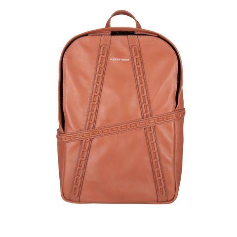 Bag, Tan, Product, Brown, Backpack, Leather, Khaki, Orange, Peach, Handbag,