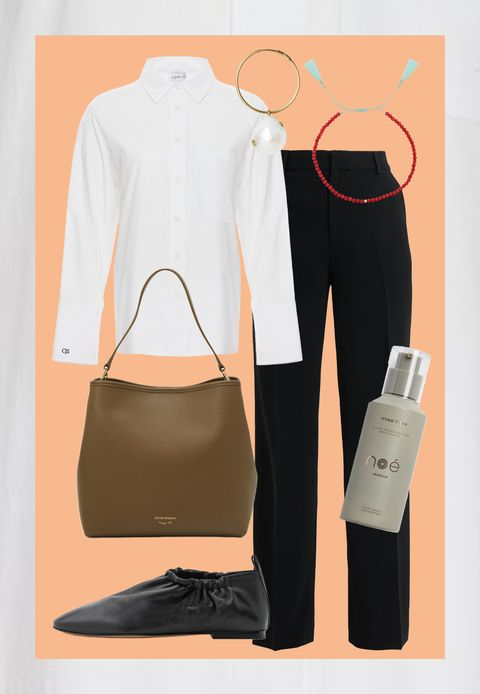 oversized witte blouse trend