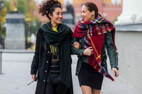 Street Style Day 1 - Mercedes-Benz Fashion Week Russia