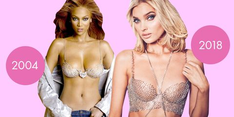a46d73a68 See Photos of All the Victoria s Secret Fantasy Bras Through the Years