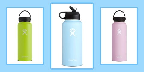 VSCO girl hydro flask water bottle
