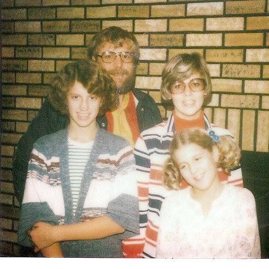 heather von st james with her family