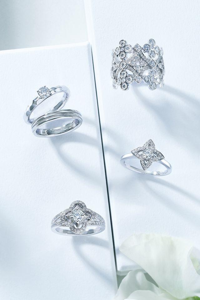 ステータスブランドのときめき婚約指輪♡<ルイ・ヴィトン編>