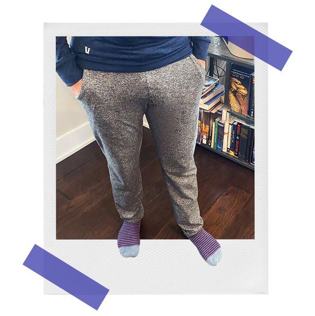brandon wearing vuroi ponto performance pants