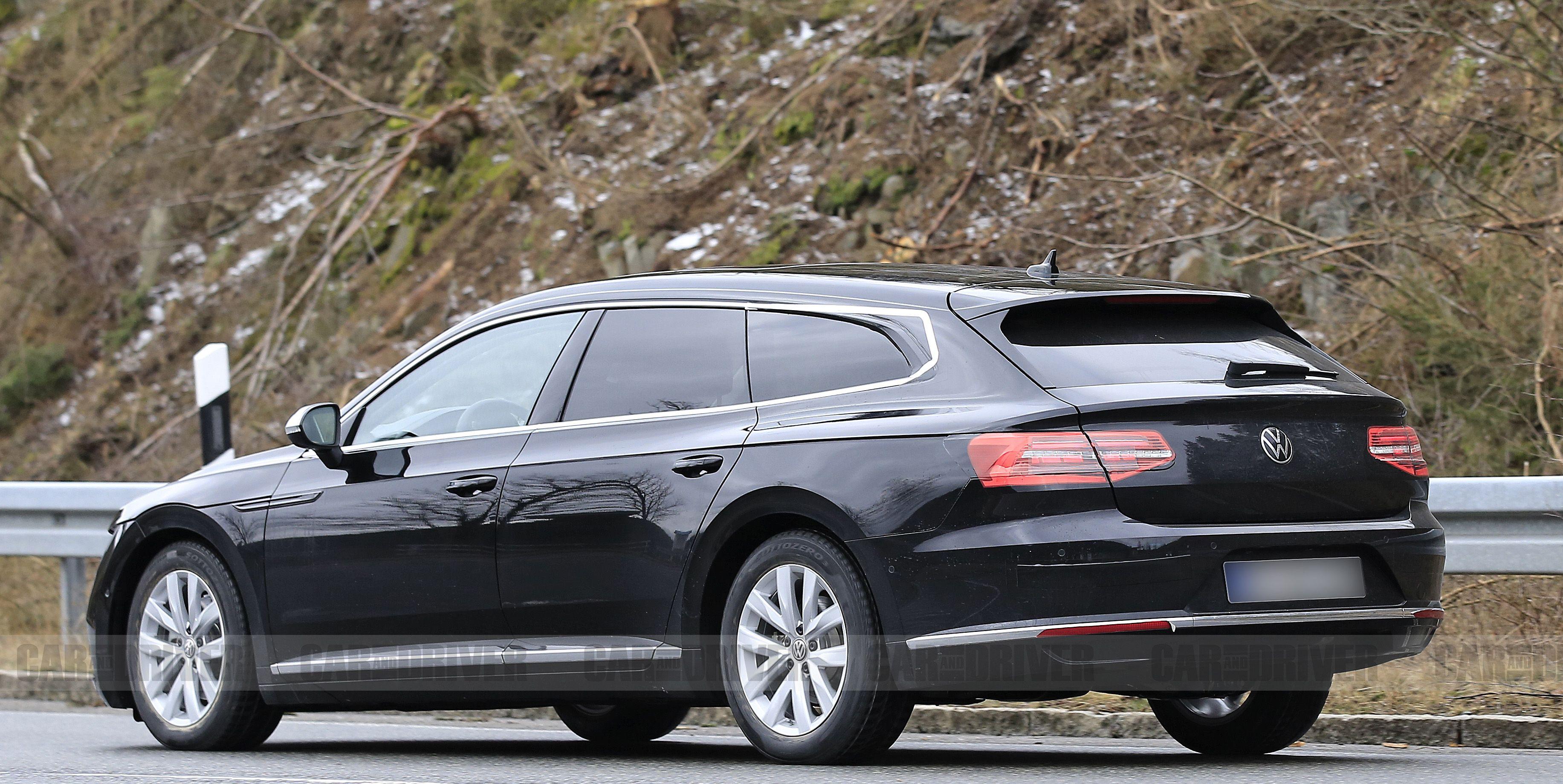 VW Arteon Adding Wagon and High-Performance R Variants