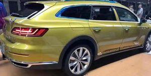 Volkswagen Arteon Shooting Brake filtrado