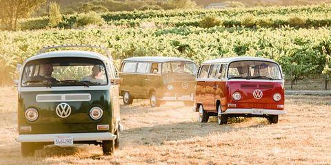 Land vehicle, Car, Motor vehicle, Vehicle, Mode of transport, Transport, Volkswagen type 2, Classic car, Van, Minivan,