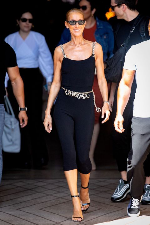 Clothing, Shoulder, Fashion model, Fashion, Eyewear, Waist, Tights, Footwear, Sportswear, Fashion show,