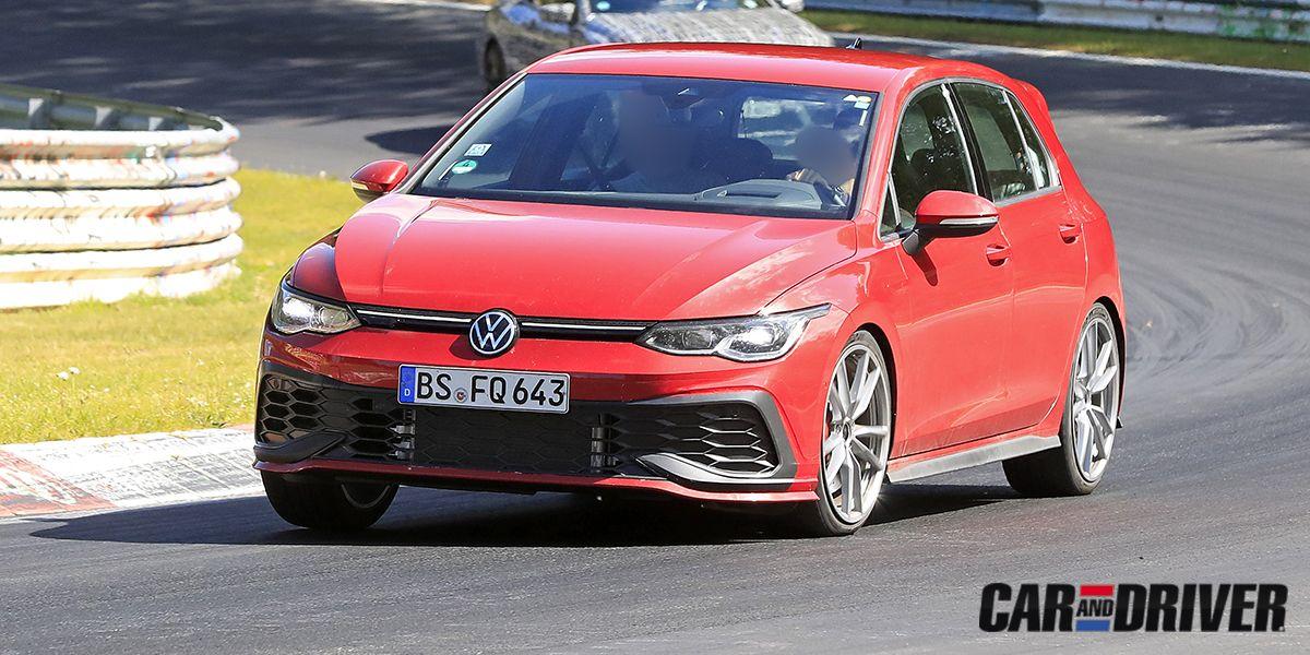 Volkswagen Golf Gti Tcr 2021 El Hermano Pequeno Del R Se Prepara