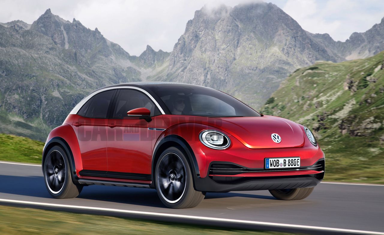 Volkswagen S Beetle Could Morph Into A Full Electric Four Door News Car And Driver