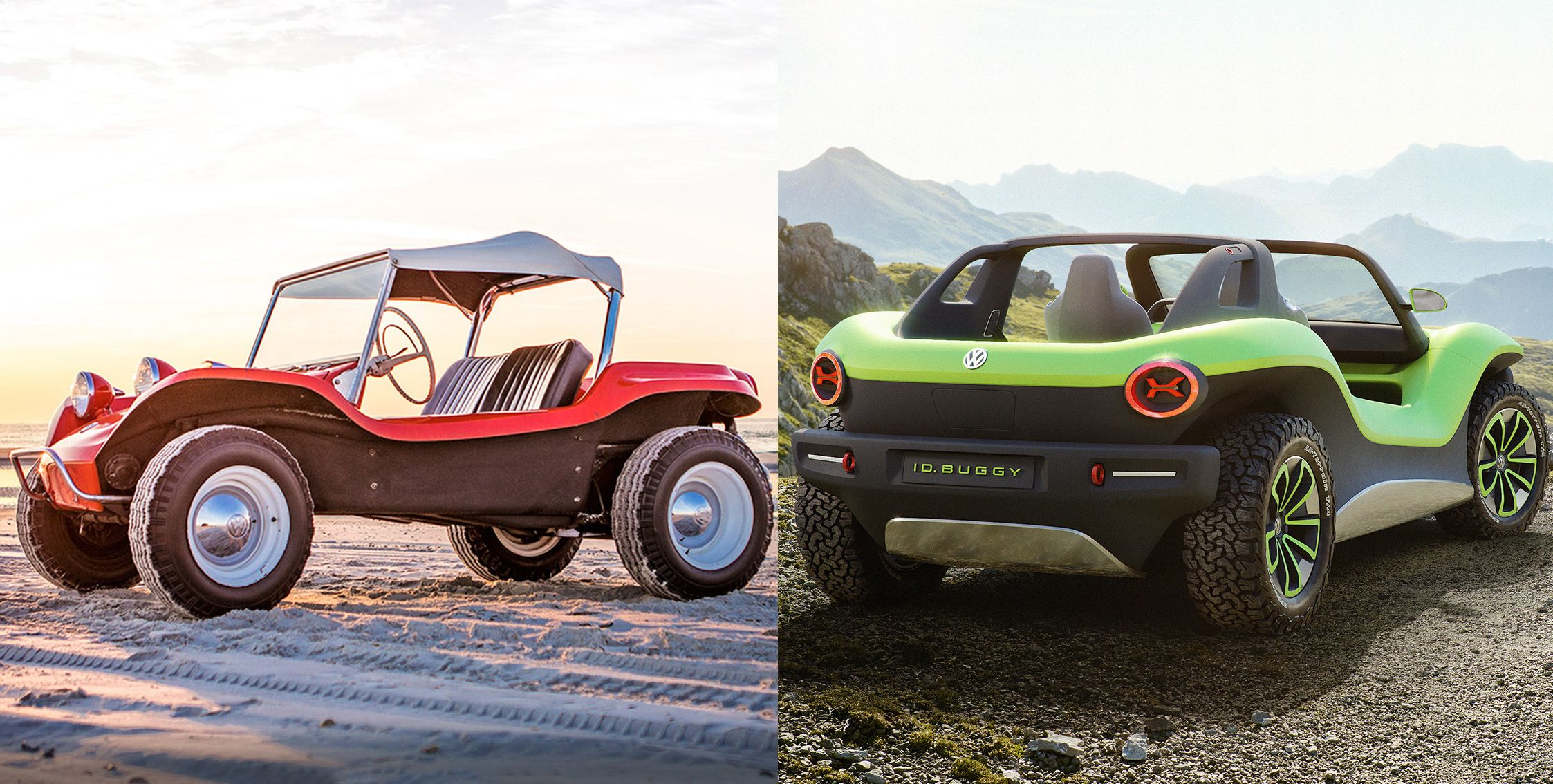 If You Loved the Meyers Manx in the '60s, You'd Really Dig the Volkswagen I.D. Buggy in the '20s
