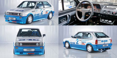 Why Three 1985 VW Polos Did 130 MPH for 24 Hours Straight
