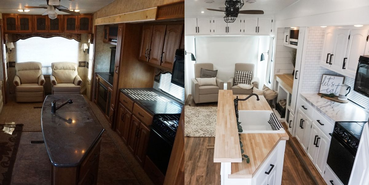 This Mother-Daughter Duo Renovates RVs to Create Beautiful Tiny Homes