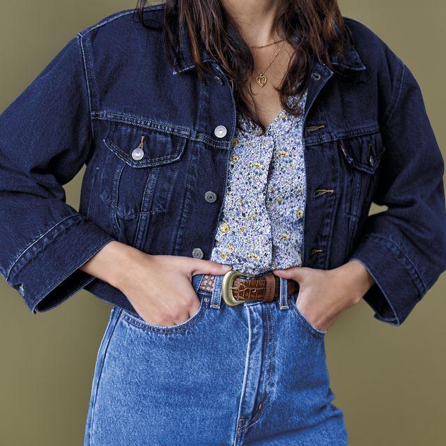 levi's lanza sus vaqueros reciclados, hechos de jeans usados
