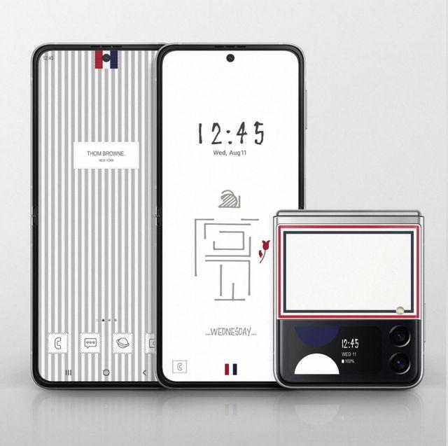 三星與thom browne再度推出聯名手機!z fold3、z flip3限量手機預購時間售價