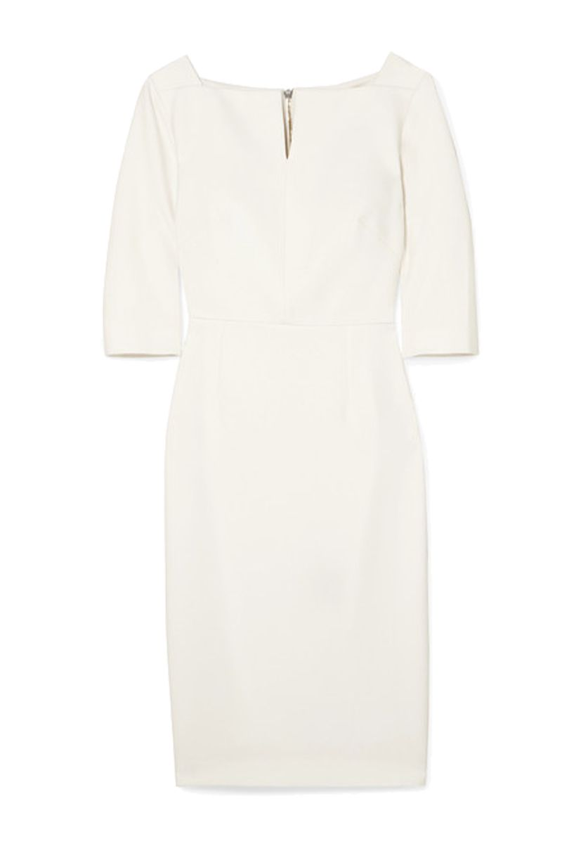 Roland Mouret Etty stretch-crepe dress