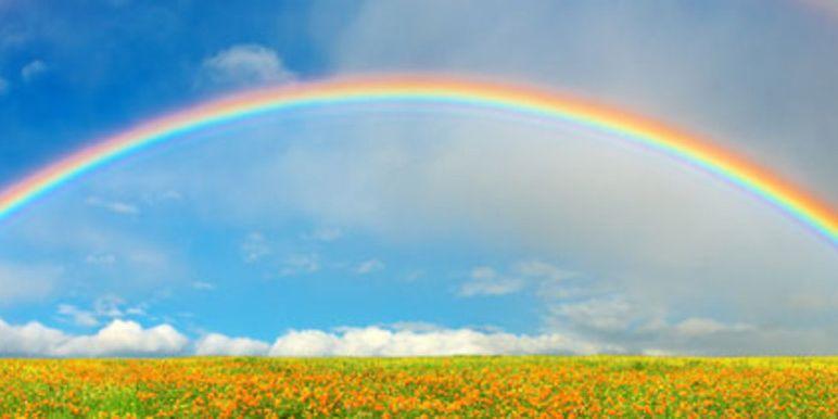 Waarom is een regenboog boogvormig?