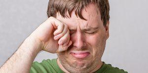 Hoofdpijn na huilen