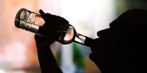 alcohol drinken plassen