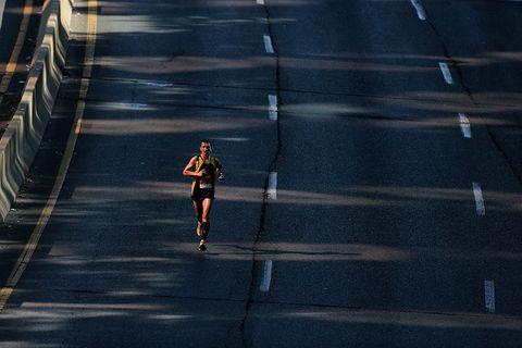 Marathon hardlopen hardloper