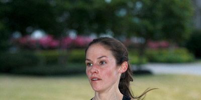 Becky Wade at the 2015 Houston Half Marathon