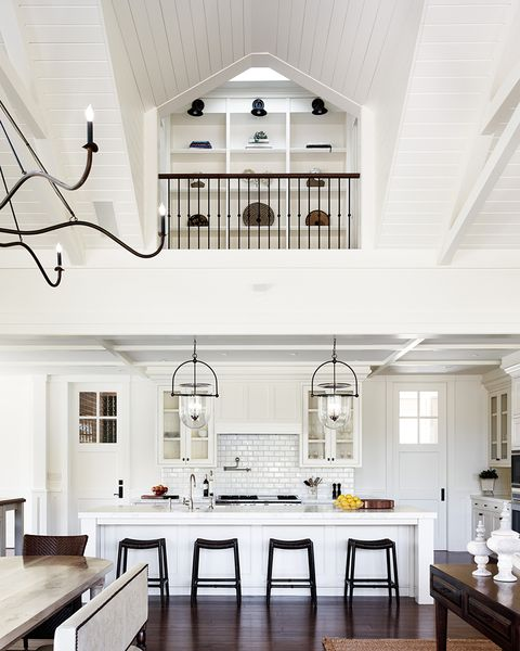 Kitchen Great Room At Dusk: 25 Stunning Double-Height Kitchen Ideas