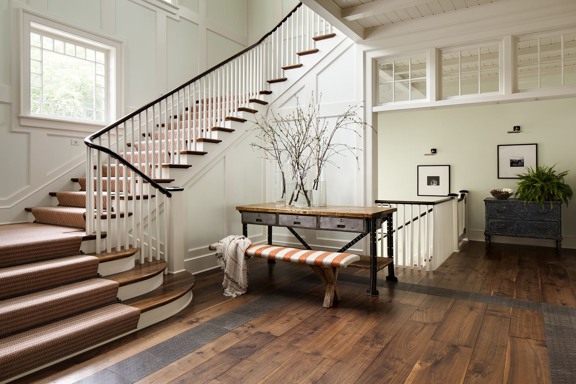 David Bader. A grand staircase entry & 27 Stylish Staircase Decorating Ideas - Staircase Wall Decor