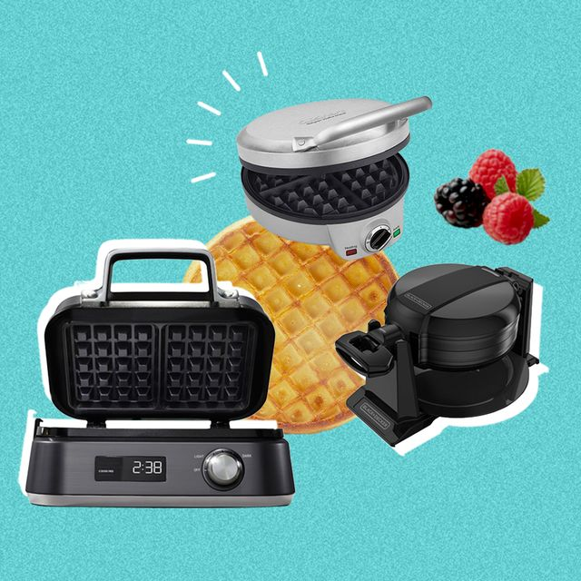 12 waffle irons that make brunching at home feel super fancy