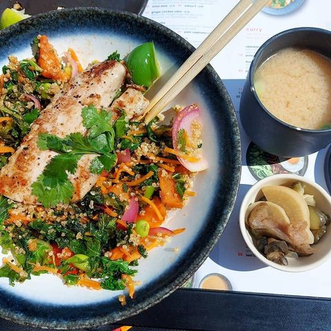 eat out to help out healthy options what a nutritionist would eat at wagamama