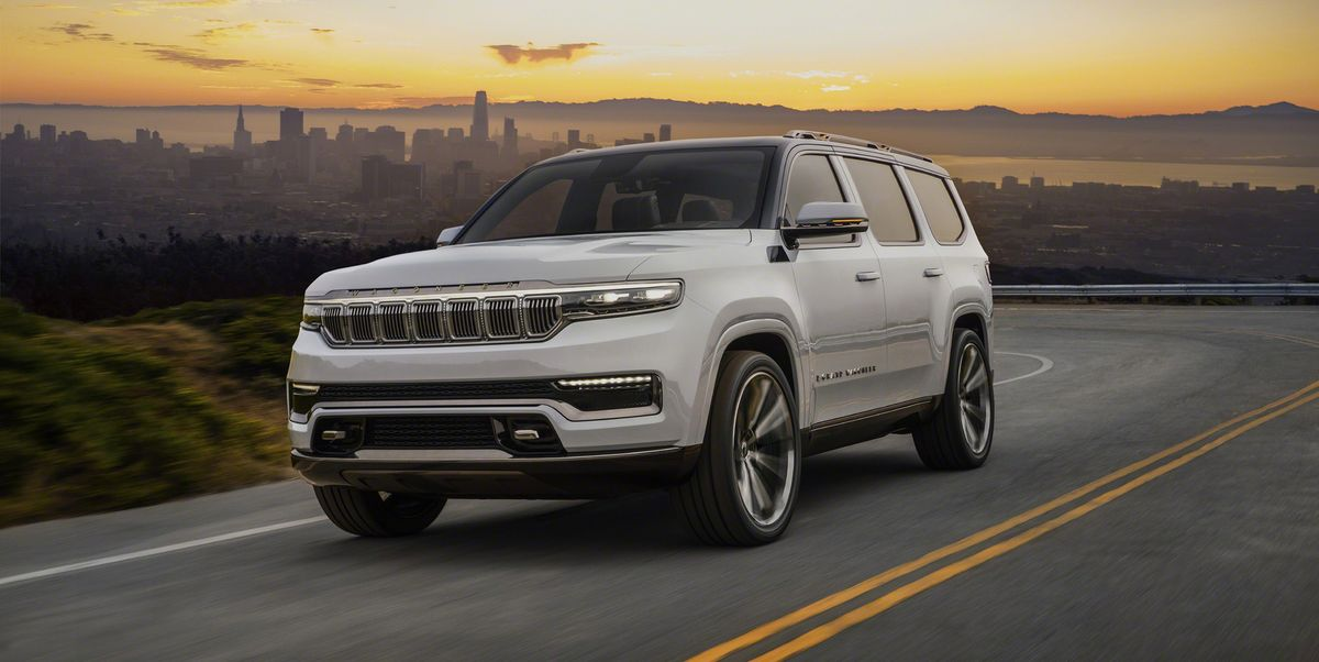The Jeep Grand Wagoneer Concept Is Here