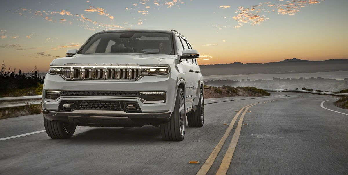 The Jeep Grand Wagoneer is here and it's huge