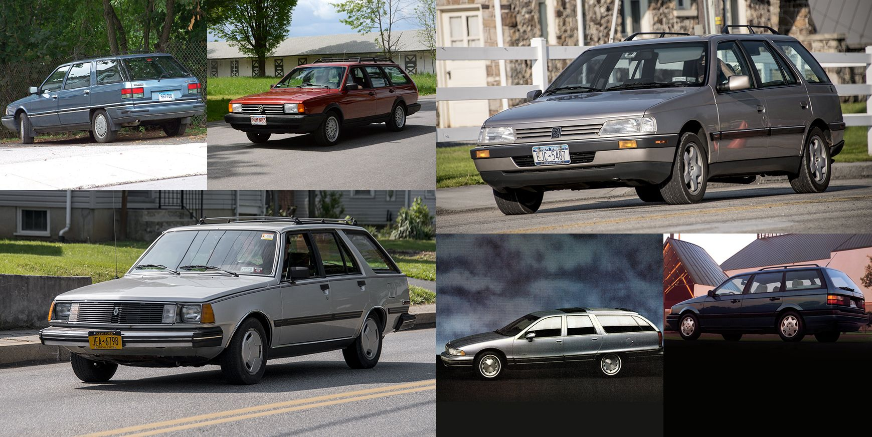 10 Station Wagons You Almost Never See These Days