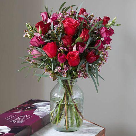 Bloom & Wild roses - Valentine's Day flowers