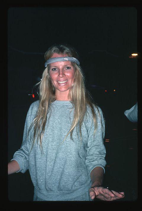 Kim Basinger Wearing Sweatshirt