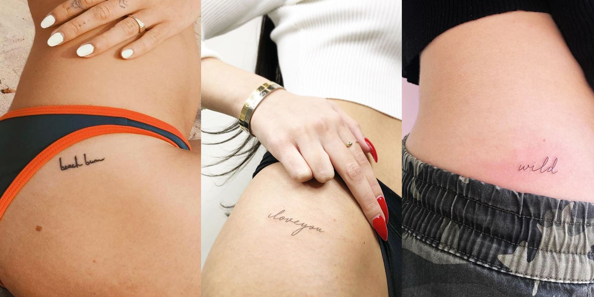 19 Hip Tattoo Ideas and Designs to Copy , Tiny Tattoo Styles