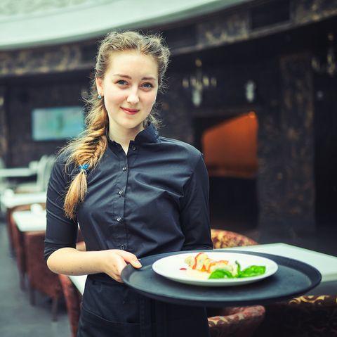 Best Summer Jobs for Teens - Waitress