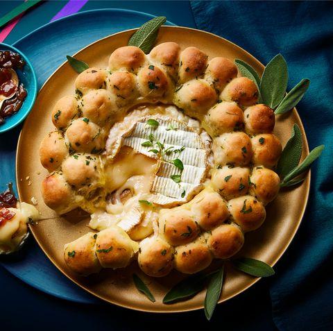 waitrose camembert garlic doughball wreath