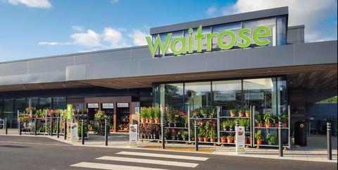 Waitrose supermarket entrance