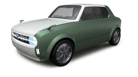 Suzuki Reveals Pair of Tiny Concepts That Are Cute but Also Future Oriented