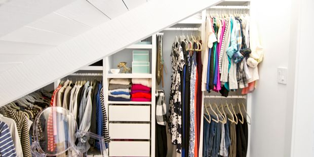 13 Best Small Closet Organization Ideas - Storage Tip for Small Closets