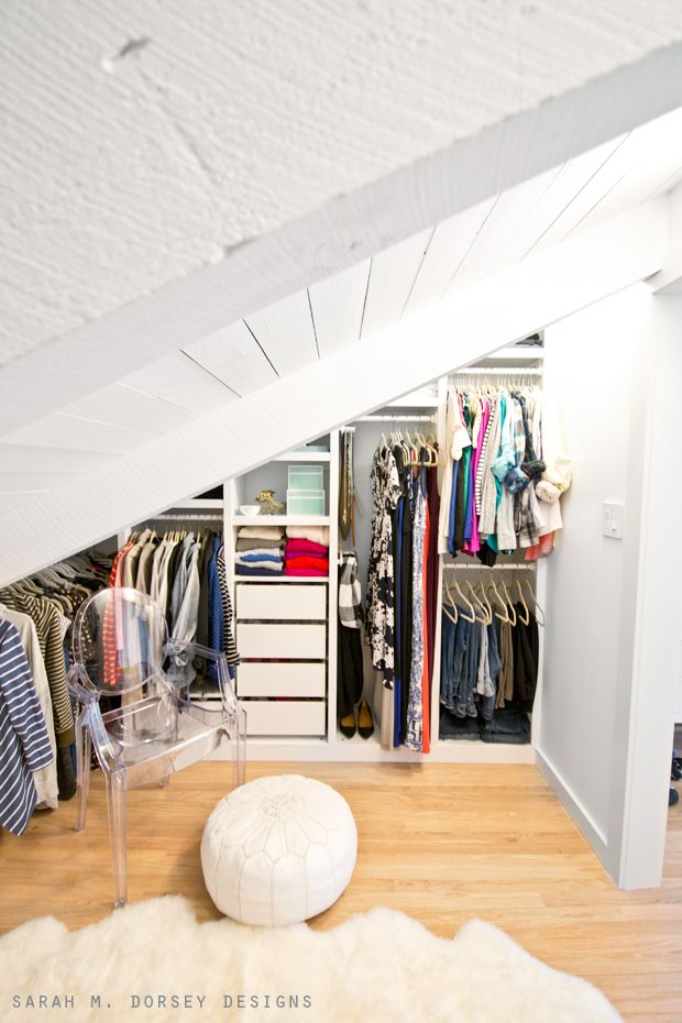 Image Number 10 Of Slanted Roof Closet