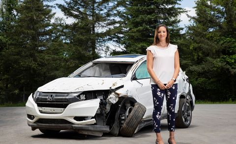Walked Away: How One Woman's Crash Reflects Growth in Survival Rates