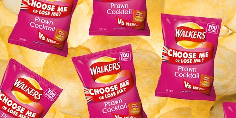People are kicking off over Walkers potentially getting rid of Prawn Cocktail crisps