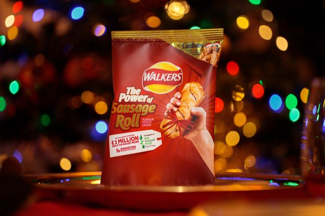 walkers' sausage roll flavoured crisps are a game changer