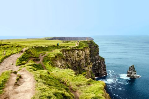 Cliff, Coast, Headland, Klippe, Promontory, Sea, Coastal and oceanic landforms, Rock, Natural landscape, Cape,